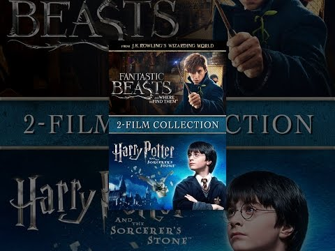 Fantastic Beasts and Where to Find Them & Harry Potter and the Sorcerer's Stone Bundle (2pk)