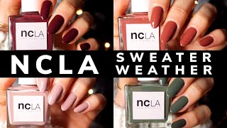 NCLA Sweater Weather Live Swatch Video Review