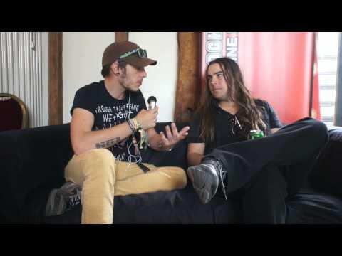 Airbourne Interview Sonisphere Festival 2014