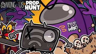 THIS PROP HUNT GAME MOD IS HILARIOUS! | Among Us