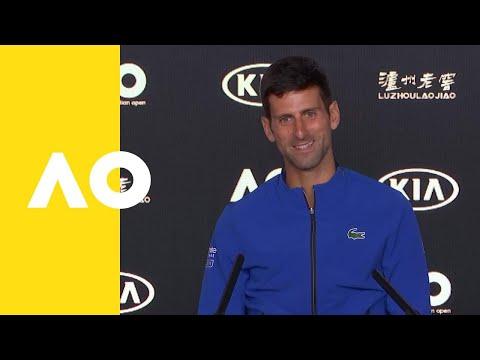 Novak Djokovic press conference (SF) | Australian Open 2019 Mp3