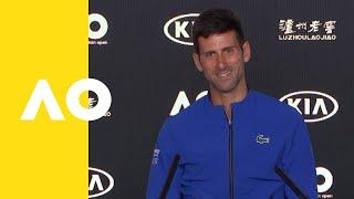Novak Djokovic press conference (SF) | Australian Open 2019