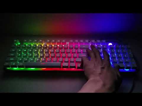 한성컴퓨터 멤브레인 게이밍 유선키보드 GTune MBF77 Vision
