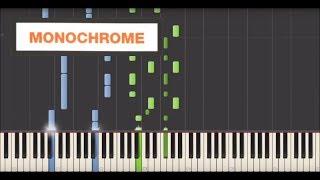 Yann Tiersen - Monochrome (Synthesia Tutorial)