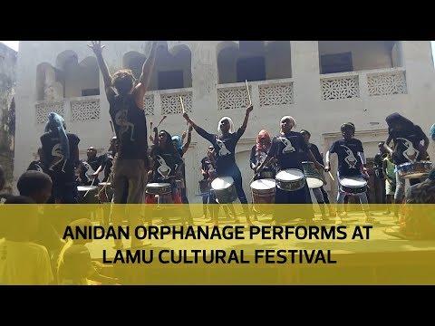 Anidan Orphanage performs at Lamu Cultural Festival