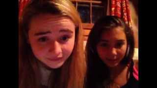 Sabrina Carpenter & Rowan Blanchard Ustream 6/29/13