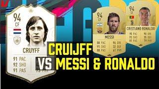 FIFA 19: Nederlandse Icons VS Huidige Topspelers: 'Cruijff Schiet Beter dan Messi'
