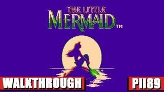 The Little Mermaid Nes Gameplay - Full Walkthrough [Nostalgia] (HQ)