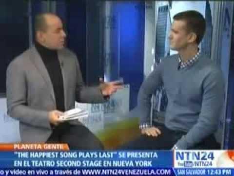 Armando Riesco en NTN24 con Alfonso Diaz
