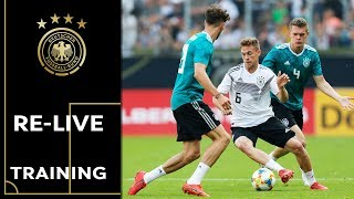 Offenes Training der Nationalmannschaft | Re-Live