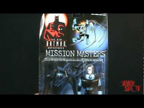 Toy Spot - Kenner The New Batman adventuresMission MastersInsect Body Mr. Freeze figure