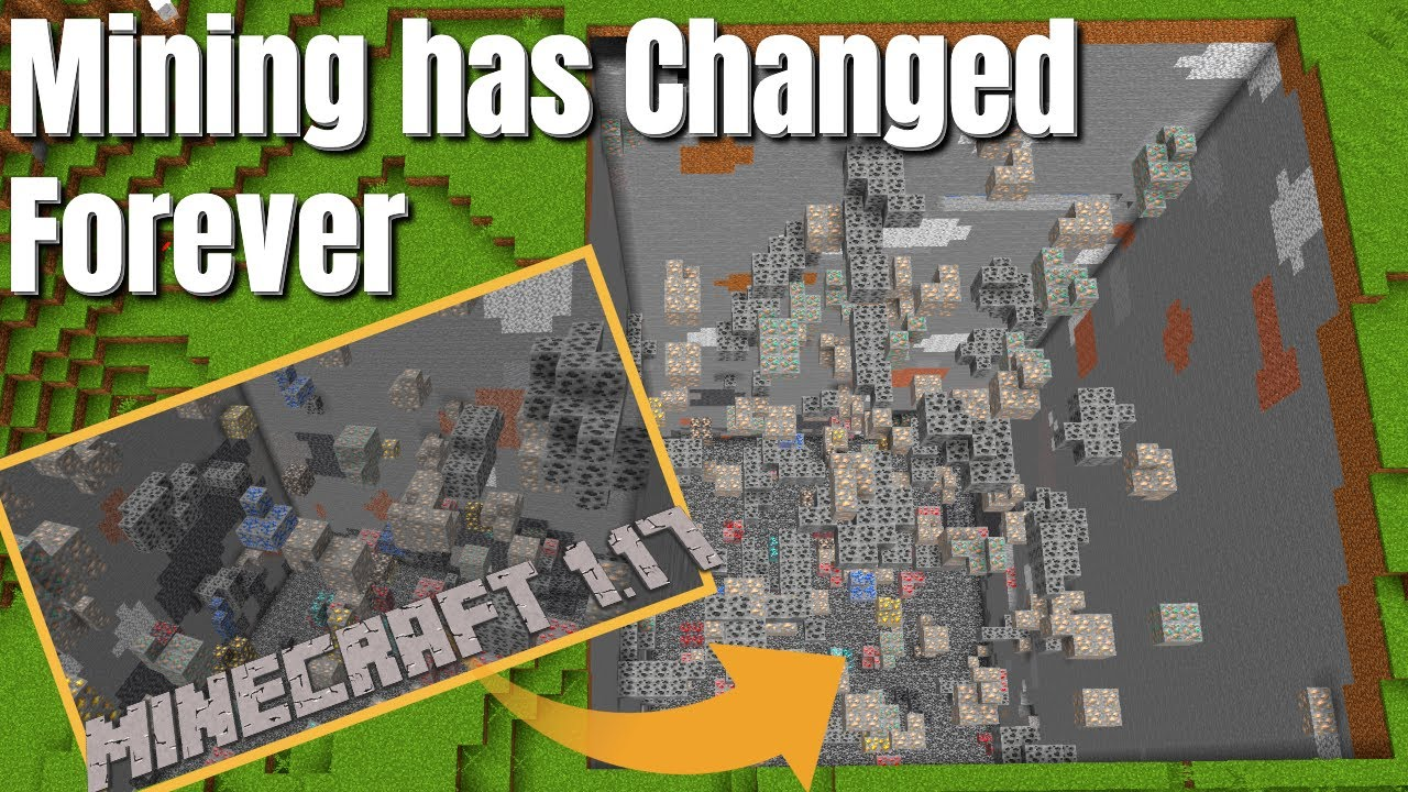 Is the Minecraft Snapshot Bringing a Brand New Mining Meta? We Experiment Minecraft 1.17 Update