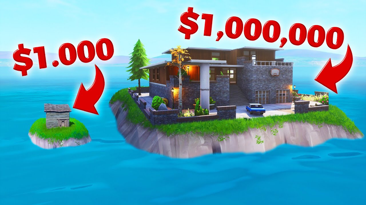 Build Your Own House Challenge In Fortnite Creative Mode Youtube