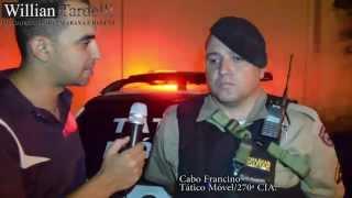 Comando 190 Araxá - Homens são presos com 150 gramas de maconha no bairro Santo Antônio.