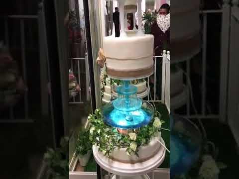 Beautiful Water Fountain Cake Youtube