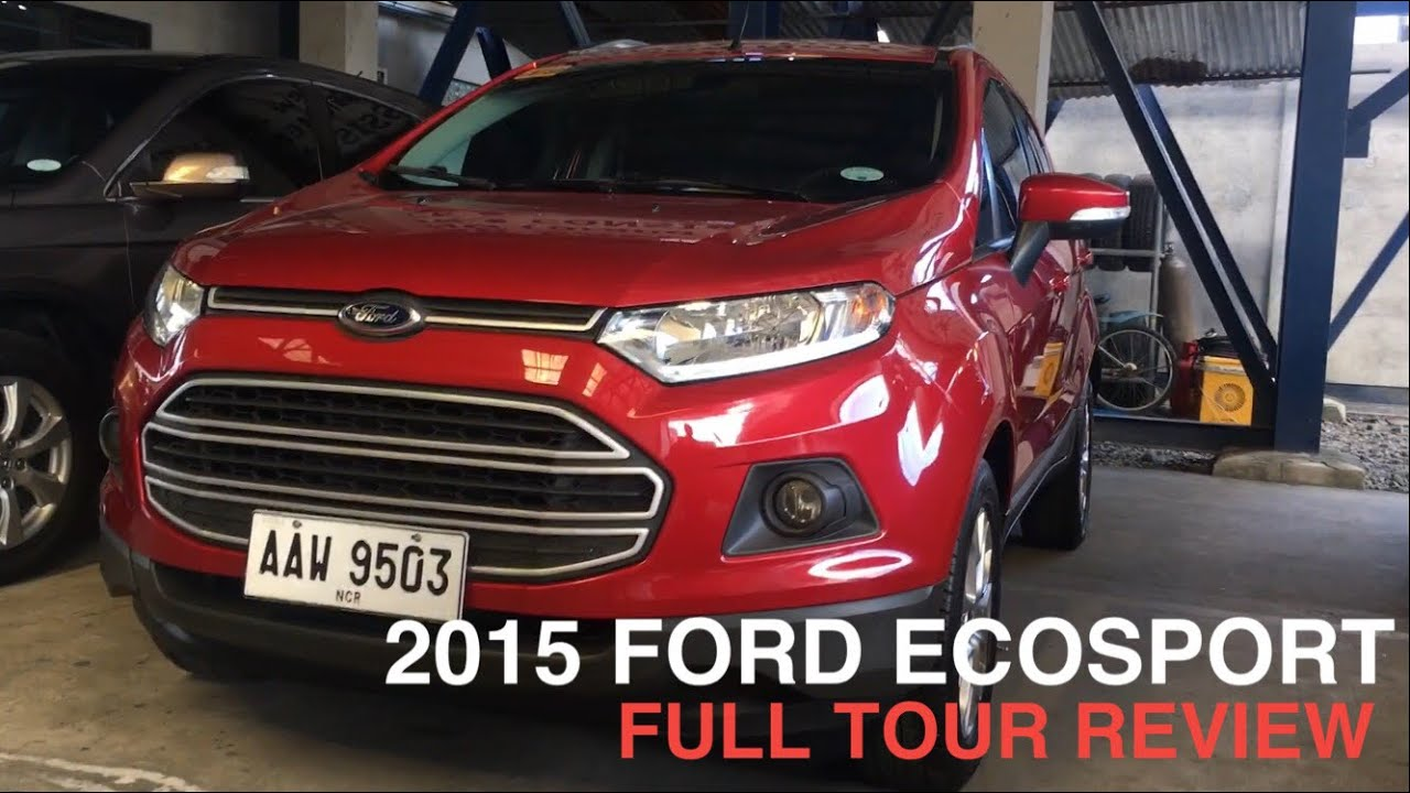Image Result For Ford Ecosport Review Youtube