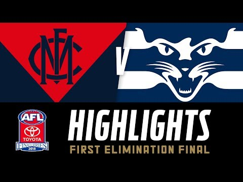 Melbourne v Geelong Highlights | Elimination Final, 2018 | AFL
