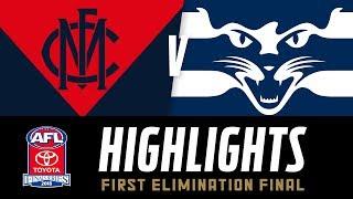 Melbourne v Geelong Highlights | Elimination Final, 2018 | AFL