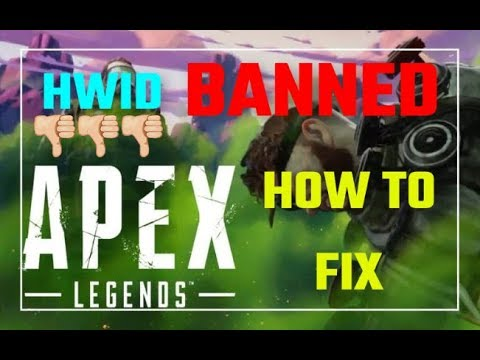 HOW TO PREVENT BAN IN APEX LEGENDS | SPOOF EAC HWID BAN | Apex Legends