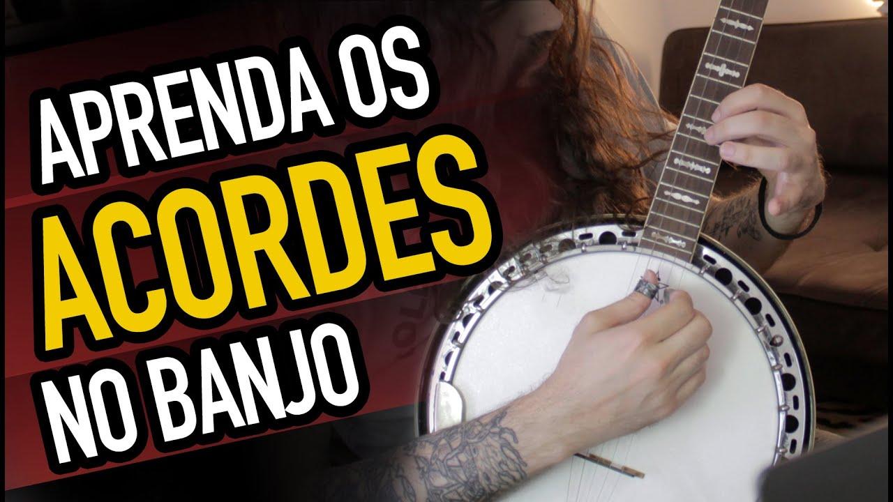 Acordes no Banjo Americano 5 Cordas