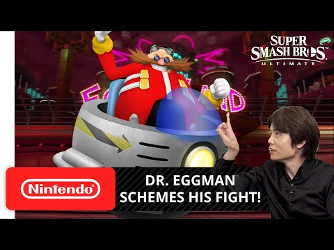 Super Smash Bros. Ultimate DLC Fan-Made Fighters Pass - Challenger Pack 6 - Dr. Eggman |