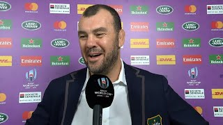 Cheika's funny response to tactical kicking question