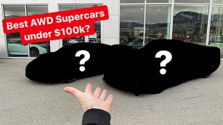 SHOPPING FOR 2 NEW WINTER BEATER SUPERCARS! *TYPE R WINNER REVEALED*