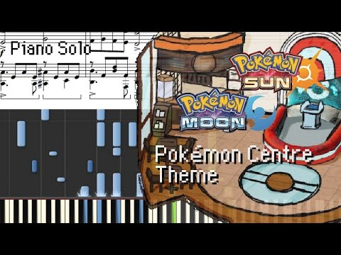 how to play pokemon center on piano