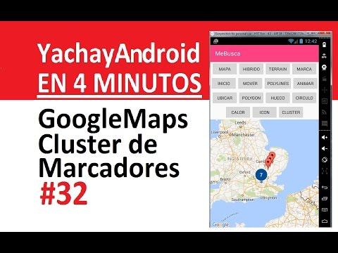 32. Google Maps - Cluster De Marcadores
