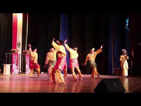 tari-zapin-di-atmosphere-of-indonesia-iv- -road-show-to-asyut,-beheira-and-matruh