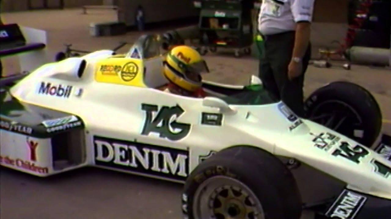 Ayrton Senna Inspirational Quote Mind Power