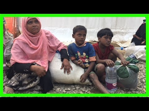 The aid workers helping rohingya muslims at bangladesh's refugee camps