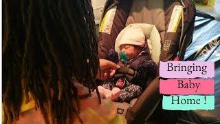 BRINGING NEWBORN BABY HOME FROM HOSPITAL !👶🏡