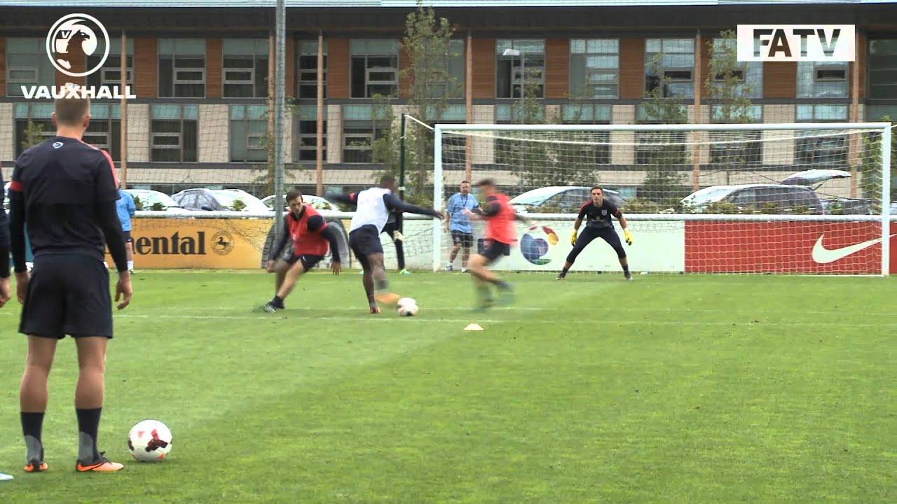 Skillful Chalobah Goal! England U21s