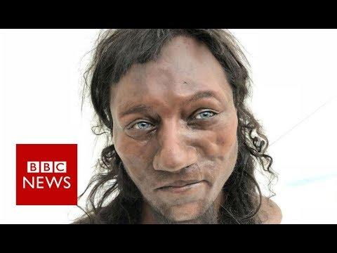 Cheddar Man: DNA shows early Briton had dark skin - BBC News