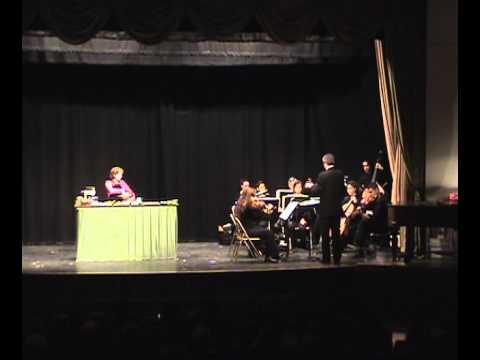 Bon Appétit! by Lee Hoiby. Melissa Collom, mezzo-soprano