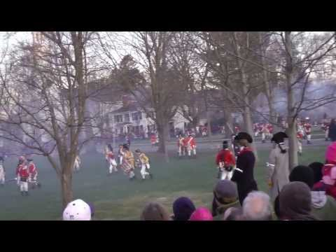 Revolutionary War Reenactment - Battle on Lexington Green 2013