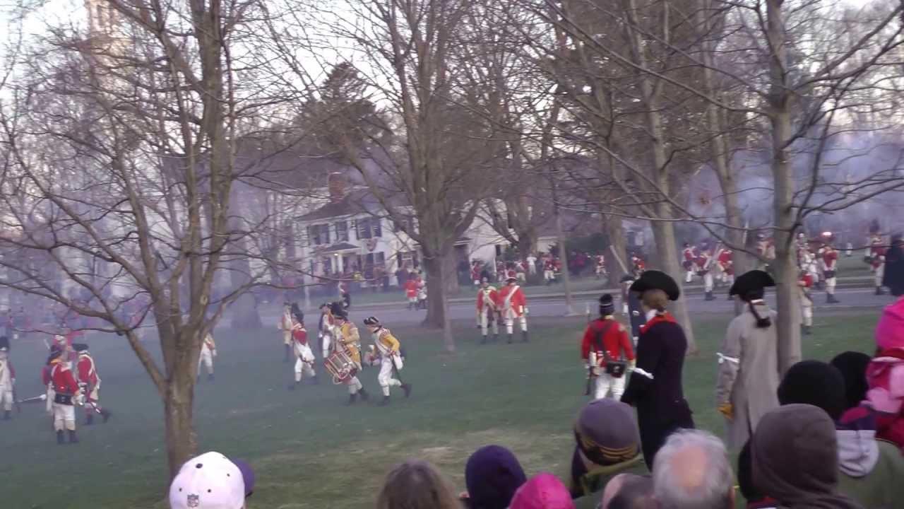 Revolutionary War Reenactment - Battle on Lexington Green 2013
