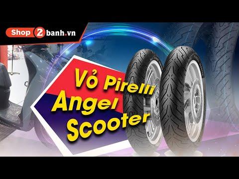 Thay cặp vỏ Pirelli Angel Scooter cho SH tại Shop2banh