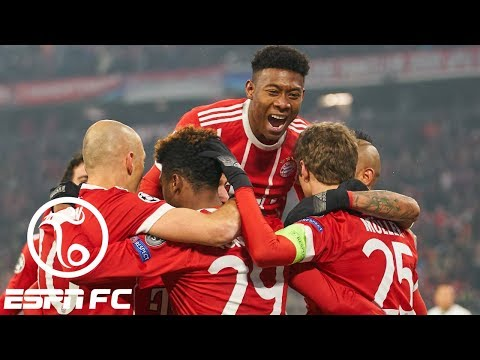 Bayern Munich thrashes Besiktas 5-0 in Champions League | ESPN FC