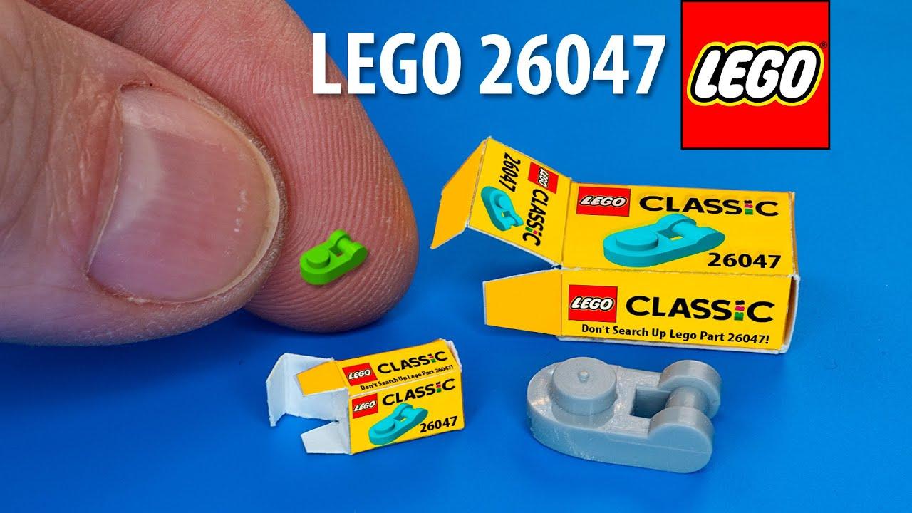 DIY LEGO 26047 Miniature | DollHouse | No Polymer Clay!