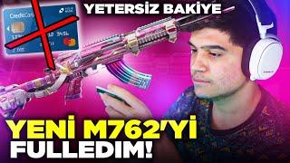 YENİ M762'Yİ FULLEDİM! (KARTIN LİMİTİ BİTTİ) | PUBG Mobile
