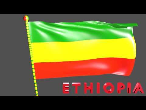 Ethiopian Flag (HD)