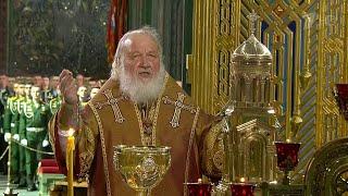 Главный храм Вооруженных сил России освятил патриарх Кирилл.