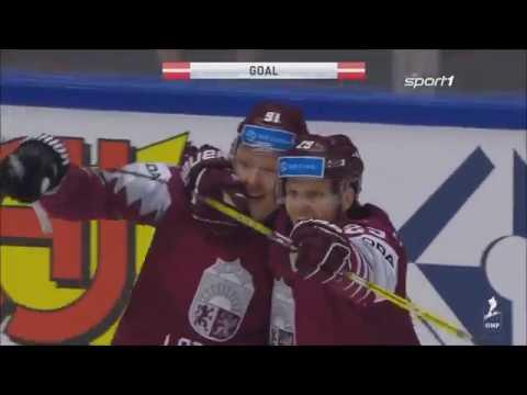 Eishockey WM 2018 - Deutschland vs. Lettland 1:3 / Highlights Sport1