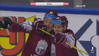 Eishockey WM 2018 - Deutschland vs. Lettland 1:3 / Highlights Sport1
