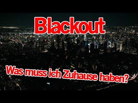Blackout Gefahr - Was muss ich Zuhause haben? Blackout Vorsorge | MythenAkte