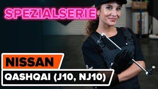 Wie NISSAN QASHQAI / QASHQAI +2 (J10, JJ10) Getriebehalter austauschen - Video-Tutorial