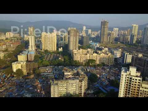 Mumbai Slum Drone Video