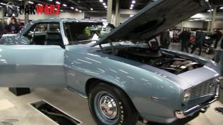 1969 Chevy Camaro COPO At The Speed And Custom Car Show London Ontario 2017